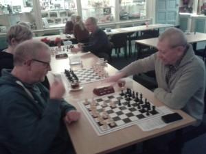 Ed Duister en Henri Spijkerman in actie