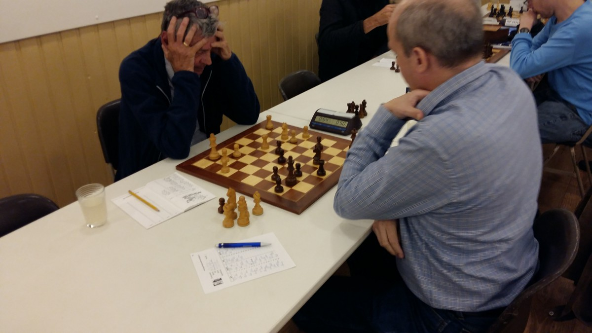 Kruiswijk aan kop in schaakcompetitie