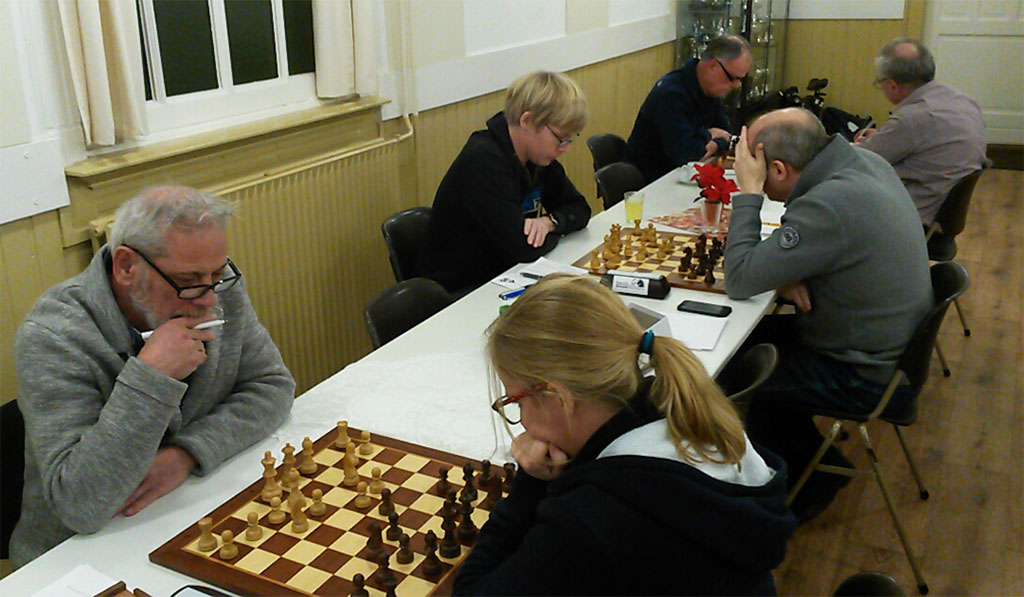 Krakend schaakspektakel