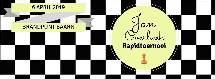 Jan Overbeek Rapidtoernooi