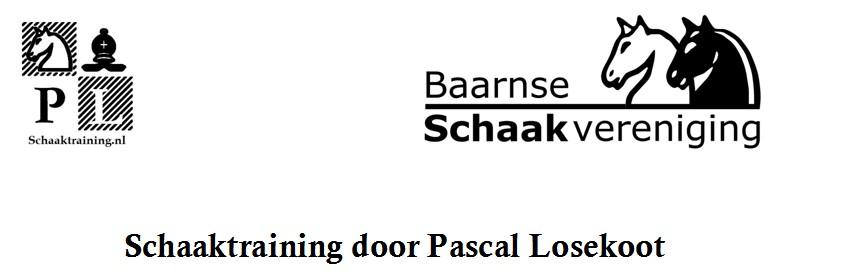 Schaaktraining Pascal Losekoot 24 november