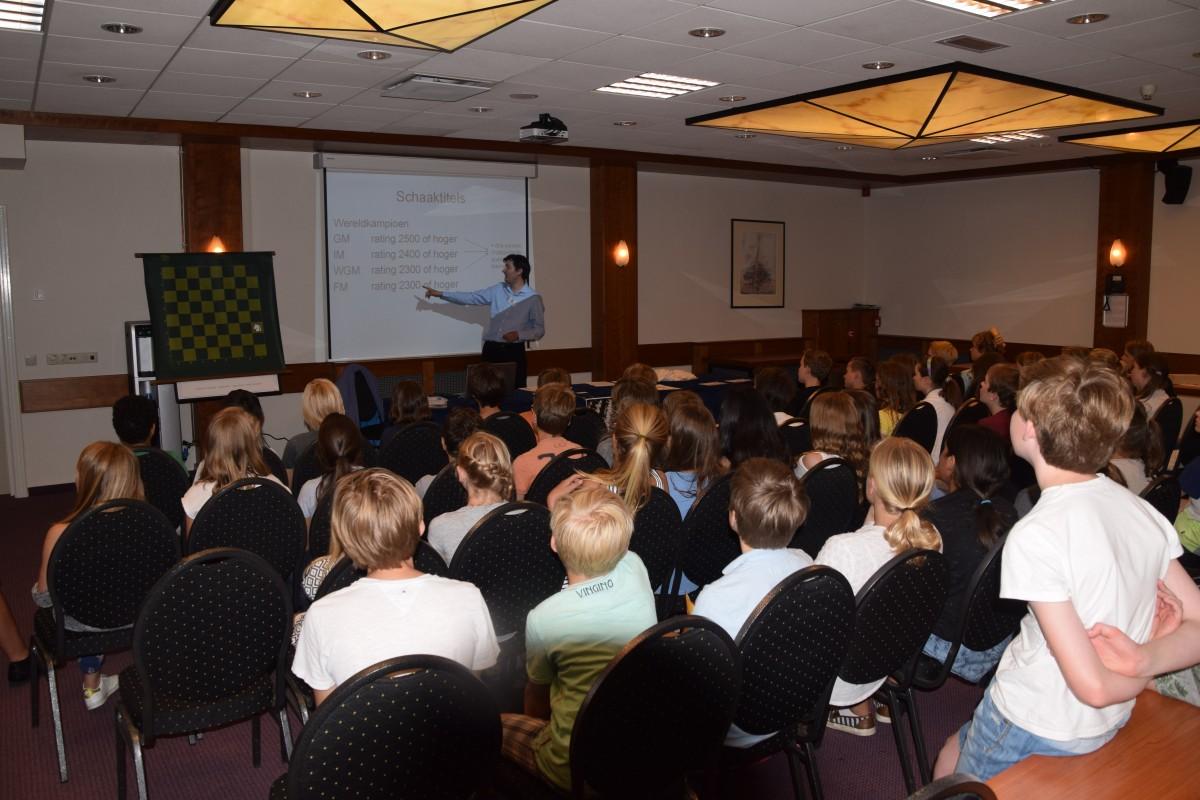Schoolschaakcampagne Baarnse Schaakvereniging