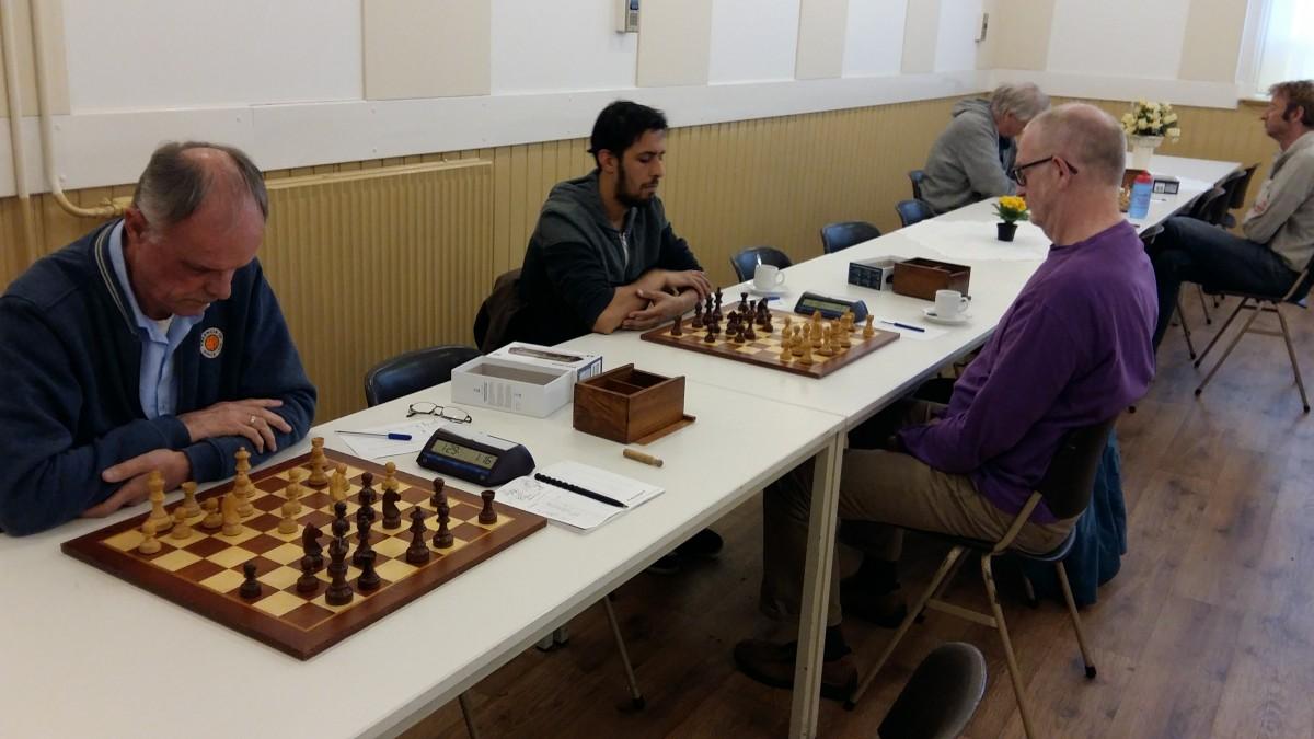 Memorabele schaakavond