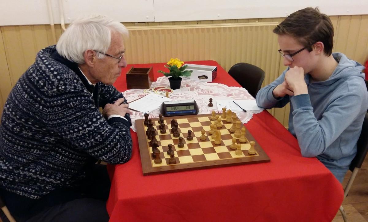 Sterke jeugdschakers in seniorencompetitie