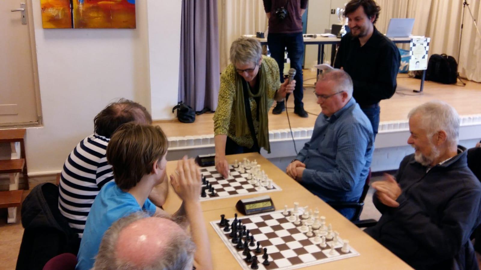 Fred Slingerland winnaar vierde Jan Overbeektoernooi
